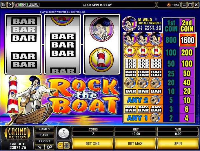 Golden nugget casino slots